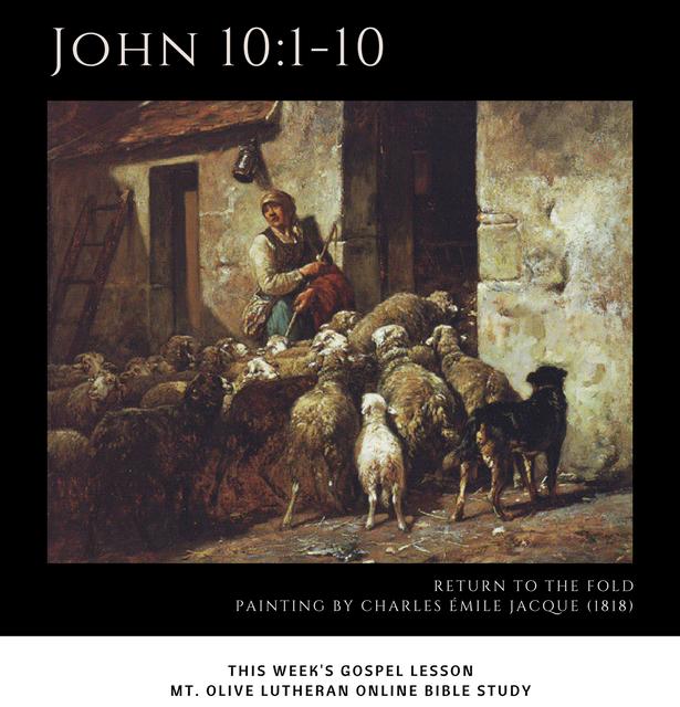 Joh 10 1 10