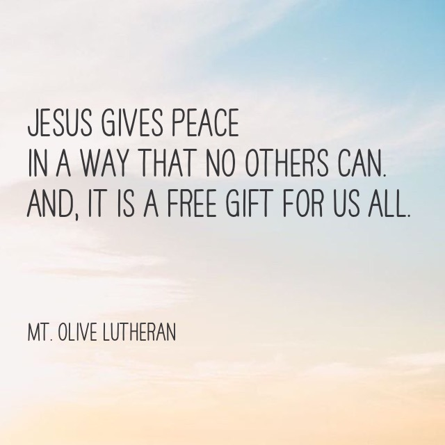 quote giftOfPeace