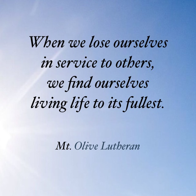 quote loseyourselftoservice