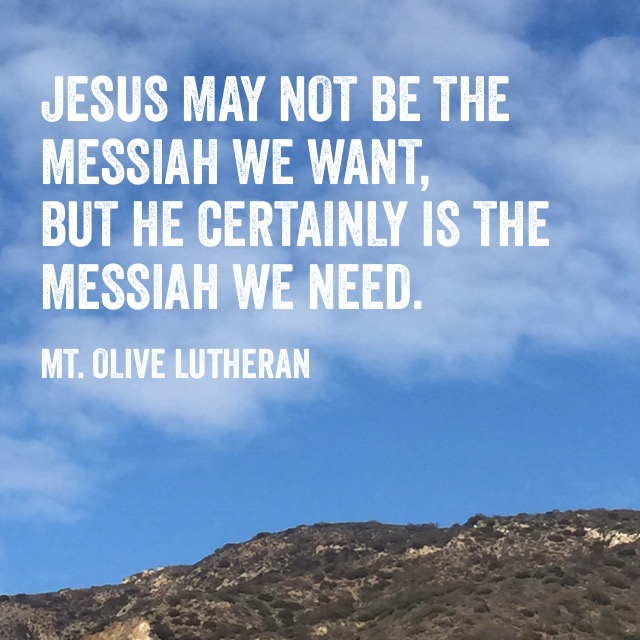 quote messiahWeNeed